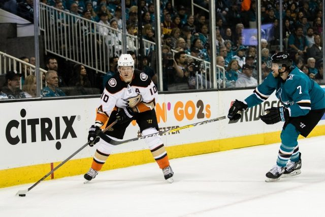Who could receive an NHL buyout? Anaheim Ducks Corey Perry isn't really practical, but San Jose Sharks Paul Martin might be.