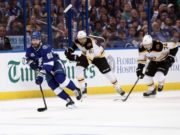 The Boston Bruins wouldn't be able to bring Rick Nash back if they sign Ilya Kovalchuk. No contract extension talks expected between Nikita Kucherov and the Tampa Bay Lightning for a while.