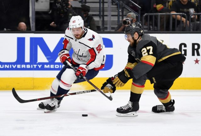 Washington Capitals Evgeny Kuznetsov will be a game-time decision.