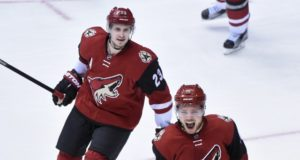 The Arizona Coyotes are talking with Oliver Ekman-Larsson about a long-term contract extension
