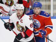 Ottawa Senators Erik Karlsson and Edmonton Oilers Leon Draisaitl