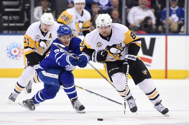 William Nylander and the Toronto Maple Leafs haven't had contract talks yet. The Pittsburgh Penguins would listen to offers on Phil Kessel.
