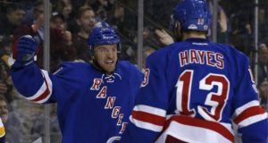 Do the New York Rangers look to trade Kevin Hayes. The Rangers and Boston Bruins have interest in Michael Grabner.