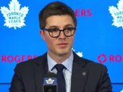 Toronto Maple Leafs GM Kyle Dubas