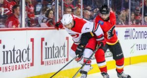 The Calgary Flames are expected to sign free agent center Derek Ryan.