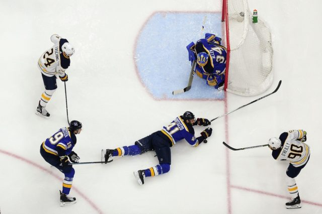 The Buffalo Sabres Ryan O'Reilly to the St. Louis Blue for five pieces