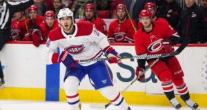 The Montreal Canadiens re-signed Phillip Danault to a three-year deal.