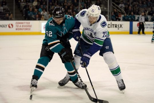 The Vancouver Canucks may have to make some room on their blue line if they think Quinn Hughes is NHL ready.