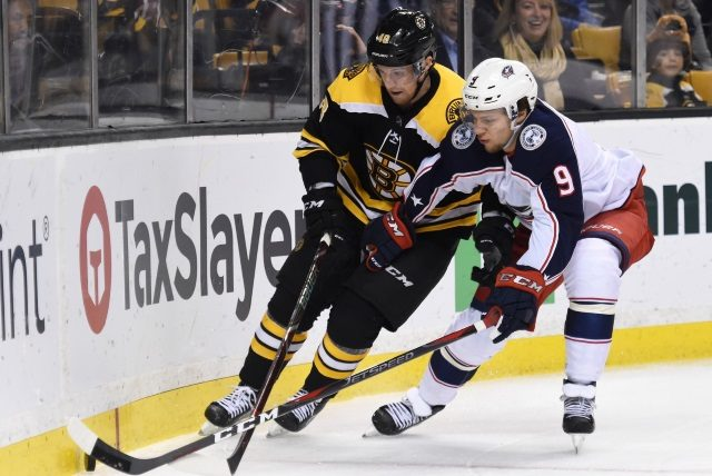 Artemi Panarin could be a potential trade target for the Boston Bruins as they look for a scoring winger.