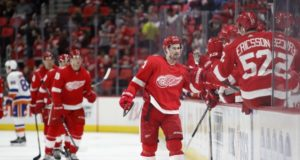 Dylan Larkin isn't looking to handcuff the Detroit Red Wings in the future.