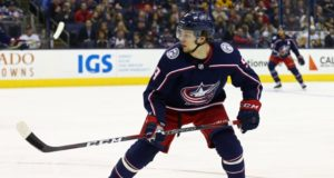 Artemi Panarin gives the Columbus Blue Jackets a training camp deadline for business side of things.