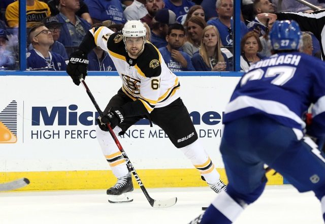 The Boston Bruins could use an impactful top-six forward, but the cost may be too high.