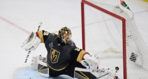 The Vegas Golden Knights have signed Marc-Andre Fleury to a three-year contract extension.