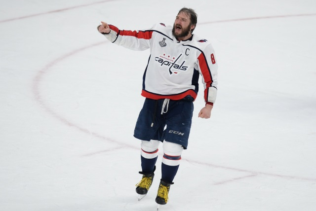 Canucks will bring over Vasili Podkolzin as soon as his KHL season is done. Alex Ovechkin not worried there haven't been extension talks yet.