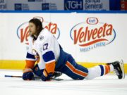 The Toronto Maple Leafs have traded Matt Martin to the New York Islanders for Eamon McAdam