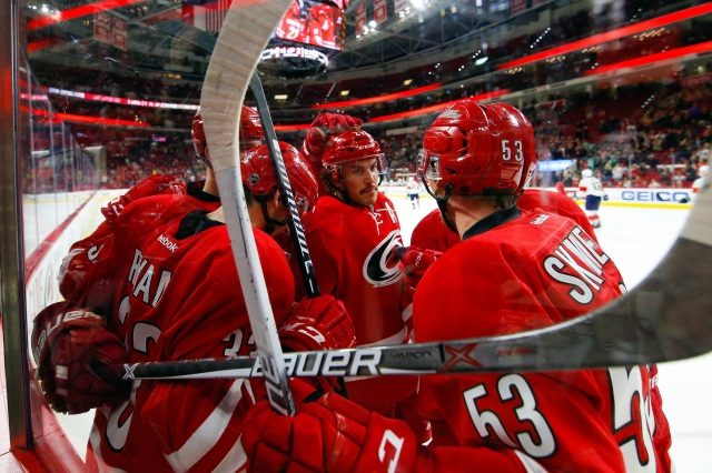 Jeff Skinner and Justin Faulk are two the top NHL trade candidates that could still be moved this offseason.