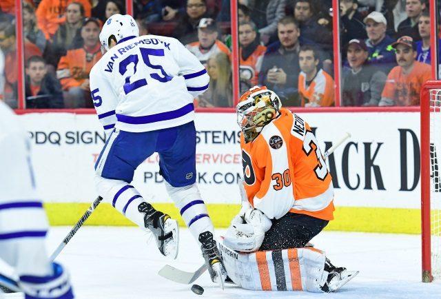 James van Riemsdyk was a key offseason add for the Philadelphia Flyers