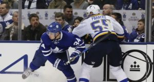 Could the Toronto Maple Leafs and St. Louis Blues be talking trade?