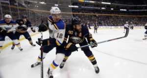 The Buffalo Sabres don't have to trade Ryan O'Reilly, but the St. Louis Blues and San Jose Sharks could be options.