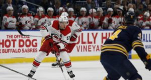The Carolina Hurricanes have traded Jeff Skinner to the Buffalo Sabres