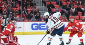 Patrick Maroon hoping one-year deal turns into a long-term deal. Jimmy Howard's play will determine whether he re-signs or if he's traded.