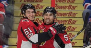 The Ottawa Senators now have Cody Ceci and Mark Stone under contract on one-year deals.
