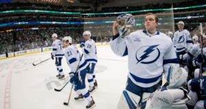 Tampa Bay Lightning's Andrei Vasilevskiy can sign an extension next offseason, Brayden Point will be a RFA after this season.