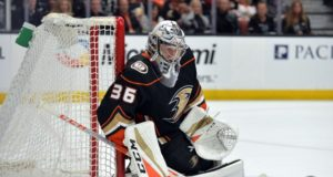 The Anaheim Ducks and John Gibson agree on an eight-year contract extension.