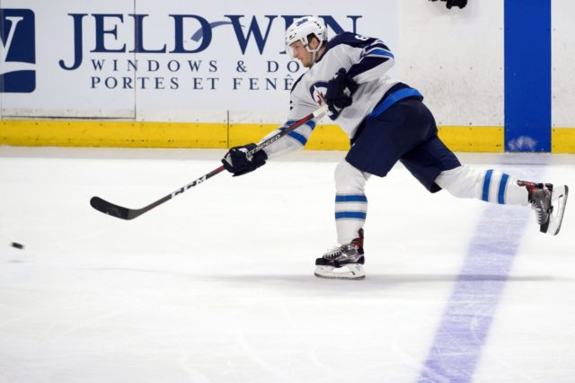 Jacob Trouba was one of only a handful of players that went through salary arbitration.
