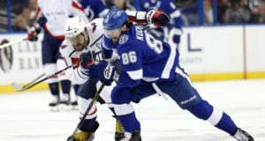 NIkita Kucherov and Alex Ovechkin are the top two on the NHL's list of the top 20 wingers
