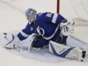 Andrei Vasilevskiy is one of the top 10 Vezina Trophy candidates for the 2018-19 season.