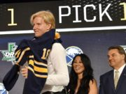 Buffalo Sabres Rasmus Dahlin is one of the top Calder Trophy candidates for this upcoming season.