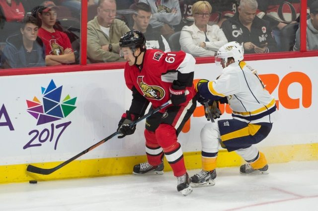 There is still plenty of time for the Ottawa Senators and Mark Stone to agree on an extension. Ryan Ellis and the Nashville Predators having consistent and continual conversations.