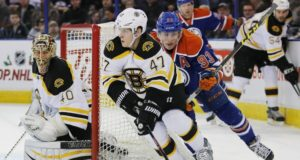 The Edmonton Oilers could come calling on the Boston Bruins on defenseman Torey Krug.
