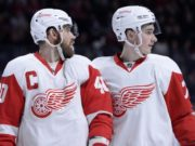 Henrik Zetterberg future not known. The Detroit Red Wings and Dylan Larkin agree on a five-year contract.