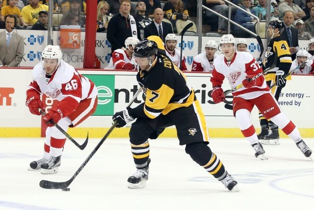 This year could be Pittsburgh Penguins Matt Cullen's final year in the NHL. The Detroit Red Wings are around $1 million over the salary cap, but could get some LTIR relief