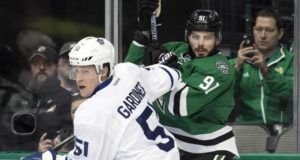 Toronto Maple Leafs Jake Gardiner and Dallas Stars Tyler Seguin