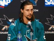 Any Erik Karlsson eight-year contract extension would have to wait until after the trade deadline due to a rule in the CBA