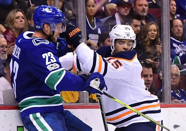 The Edmonton Oilers and Darnell Nurse several hundred thousand apart on a bridge deal.