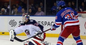 New York Rangers forward Mats Zuccarello wants to stay. Columbus Blue Jackets have tough decisions on what to do with Sergei Bobrovsky and Artemi Panarin.