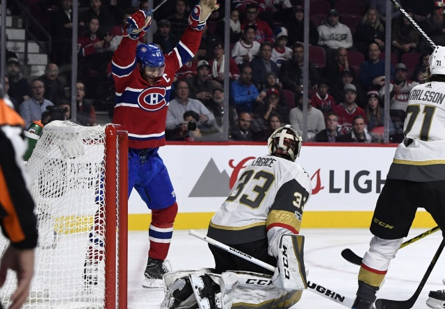 Nhl Trade Analysis Max Pacioretty Sent To Vegas For Tomas Tatar Nick Suzuki And Pick Nhl Rumors