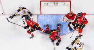Boston Bruins and Calgary Flames are two teams that have an area of need that they could still address
