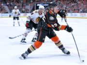 Anaheim Ducks forward Ondrej Kase is one of three Western Conference players that could be poised for a breakout season.