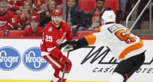 Detroit Red Wings defenseman Mike Green out with a virus