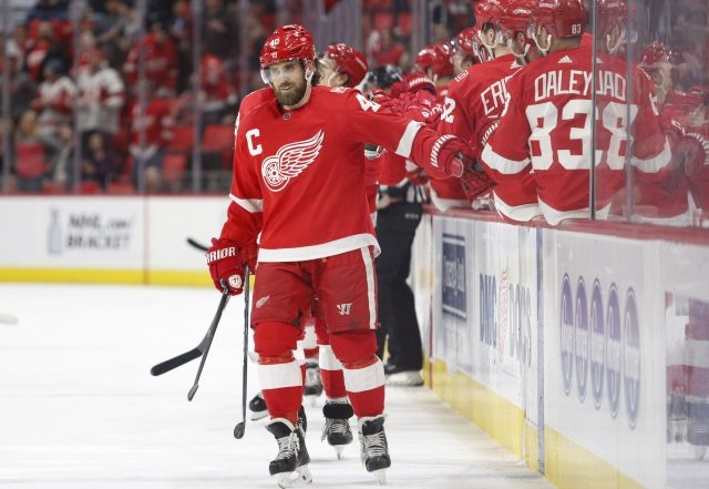 Henrik Zetterberg announces today that his NHL playing days are over.