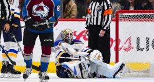 St. Louis Blues goaltender Jake Allen will be out for 10-14 days