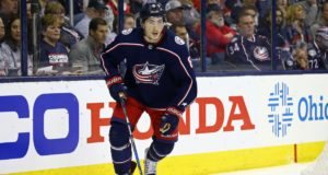 Columbus Blue Jackets Zach Werenski hopes to get into a preseason game or two