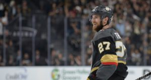 The Vegas Golden Knights have signed Shea Theodore to a seven year contract.