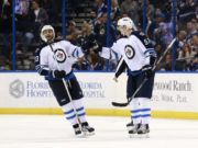 The Winnipeg Jets are trying a Dustin Byfuglien and Tyler Myers pairing.