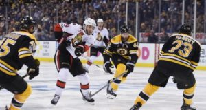 It's feared that David Backes could have another concussion. Charlie McAvoy sent home for testing